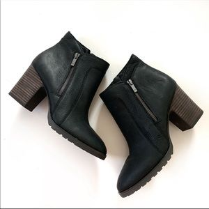 Lucky Brand Nilafa Waterproof Ankle Boot 11 Black